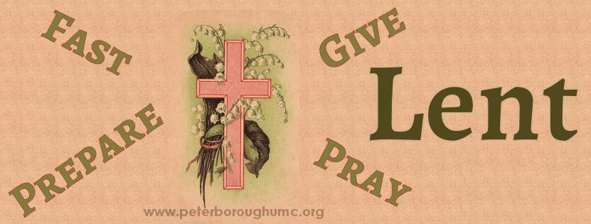 Lent Cover Image - Peterborough United Methodist Church